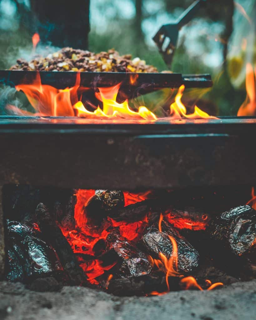 Outdoor Cooking. What does bigfoot eat?